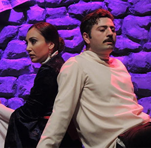 Спектакль Али и Нино