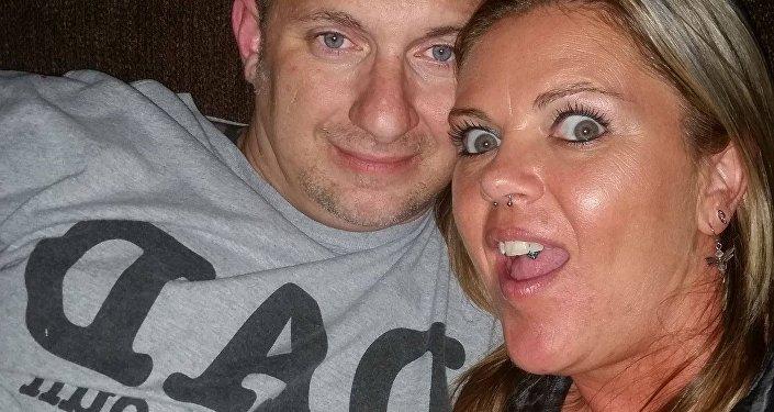 ტიშა ბოშემინი მეუღლესთან ერთად