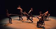 Танец британского инклюзивного коллектива Кендоко