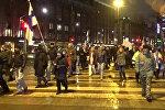 Антимигрантская акция в Хельсинки