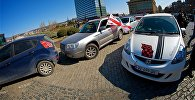 Акция протеста автомобилистов против повышения цен на топливо и акцизы на автомобили