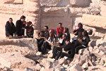 Сирийские музыканты спели народные песни в Пальмире