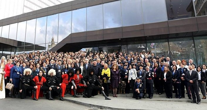 Участники международной конференции Женщины в полиции