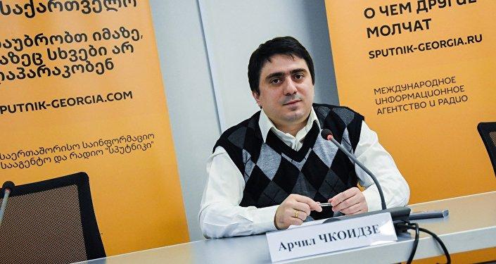Председатель Общества Ираклия Второго Арчил Чкоидзе