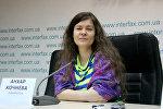 Журналистка Анхар Кочнева