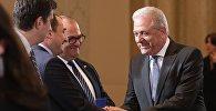 Еврокомиссар по вопросам миграции и гражданства Димитрис Аврамопулос