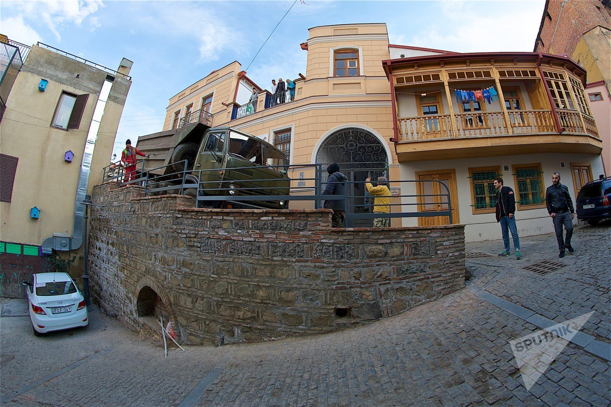 Район Калаубани в старом Тбилиси