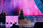 Выступление участницы Ты супер! Кристины Ашмариной на сцене Государственного Кремлевского Дворца