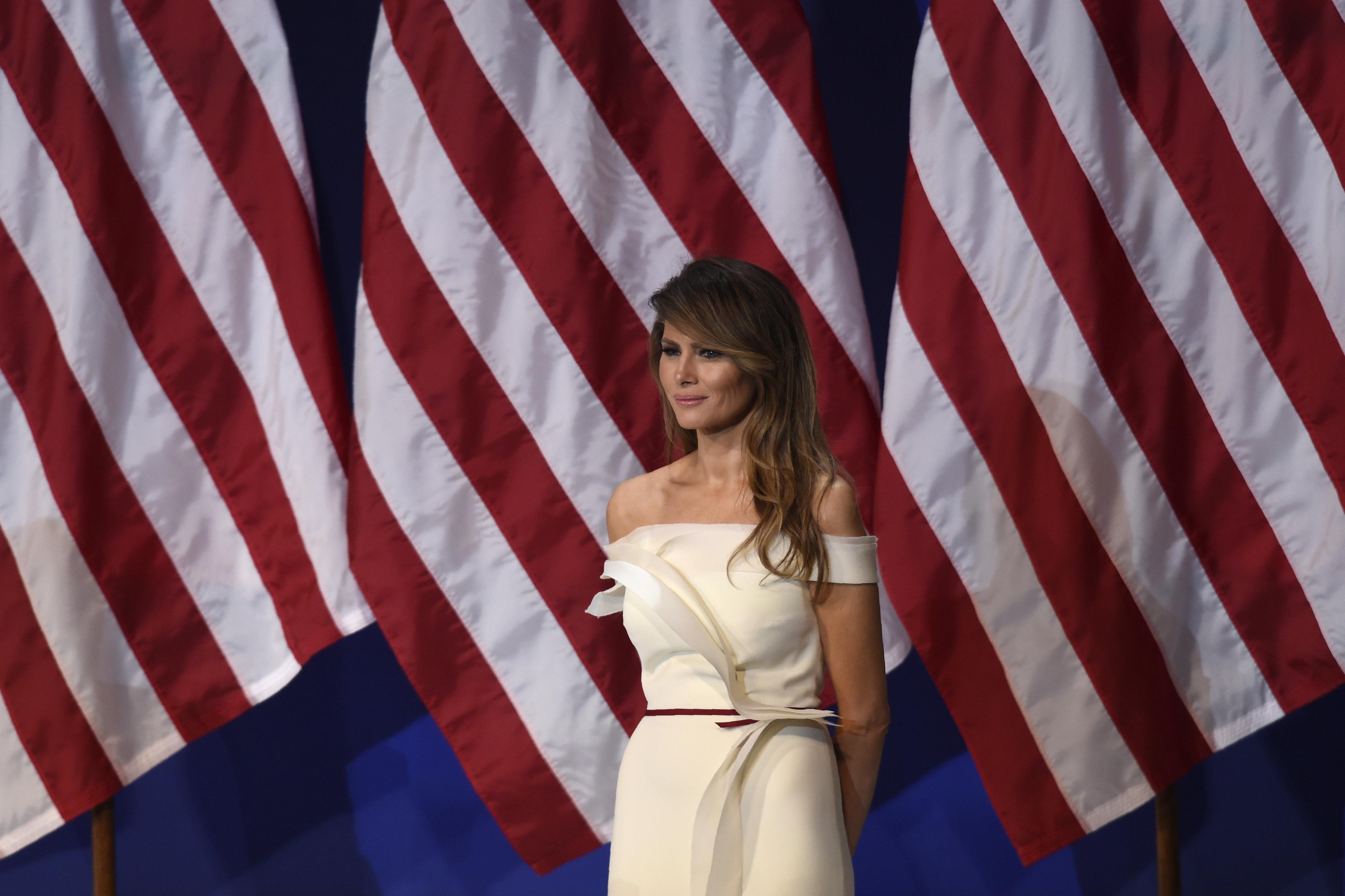 Первая леди США Мелания Трамп