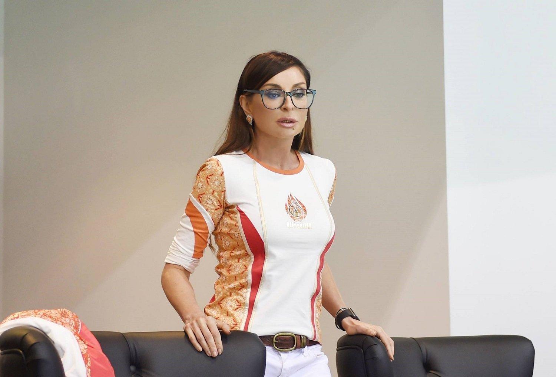 Первая леди Азербайджана Мехрибан Алиева