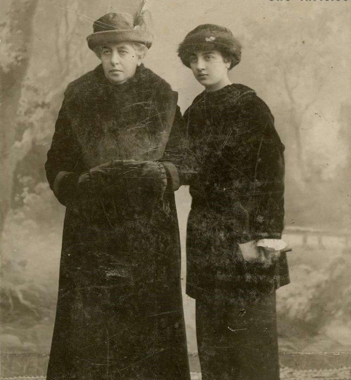 Ольга Тактакишвили-Габашвили со своей дочерью Даро Габашвили