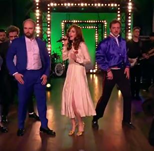 Муся Тотибадзе исполнила Танцуй, Виталик в гостях у Урганта