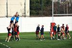 Регби: сборная России провела тренировку в Тбилиси