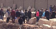 Археологическая находка в Каире: 8-метровая статая эпохи Рамзеса Великого