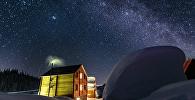 Курорт Бахмаро в снегу