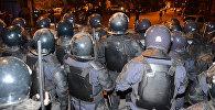 Полицейский спецназ был выведен на улицы Батуми для подавления беспорядков