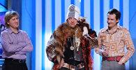 Участники шоу Уральские пельмени Андрей Рожков, Дмитрий Брекоткин и Вячеслав Мясников (слева направо)