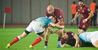 Матч по регби между сборными Грузии и России