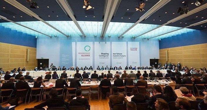 Заседание Прогрессивного альянса