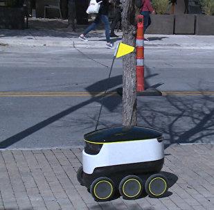 Робот-доставщик
