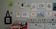 Работы детей с синдромом Дауна представлены на выставке в Тбилиси