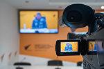 Видеомост Бишкек - Ереван на тему: Армянские тайны озера Иссык-Куль в пресс-центре Sputnik Armeniq