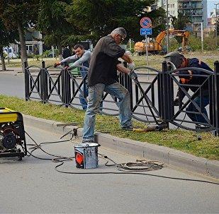 Как ликвидируют последствия беспорядков в Батуми
