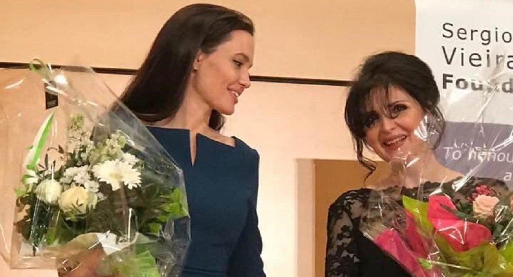 Анджелина Джоли и Элисо Болквадзе