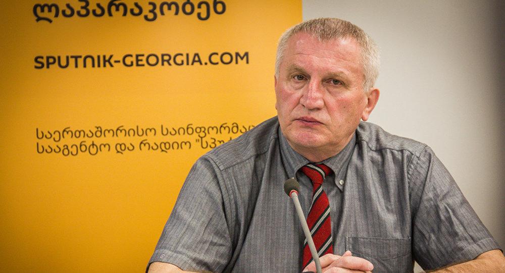 Профессор Кавказского международного университета Демур Гиорхелидзе