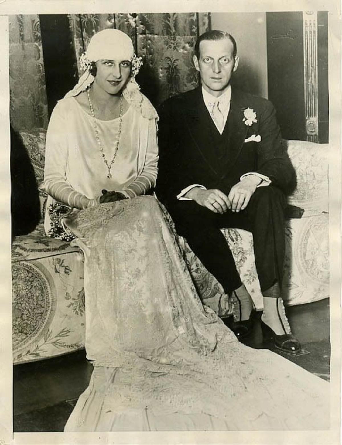 Одри Эмери и великий князь Дмитрий Павлович
