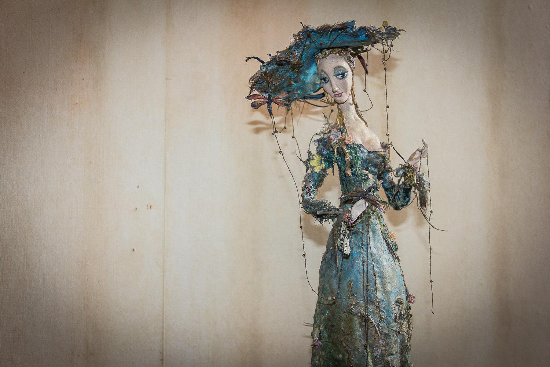 Кукла Весна работы Ирены Оганджановой