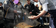 Празднование мусульманского праздника Навруз