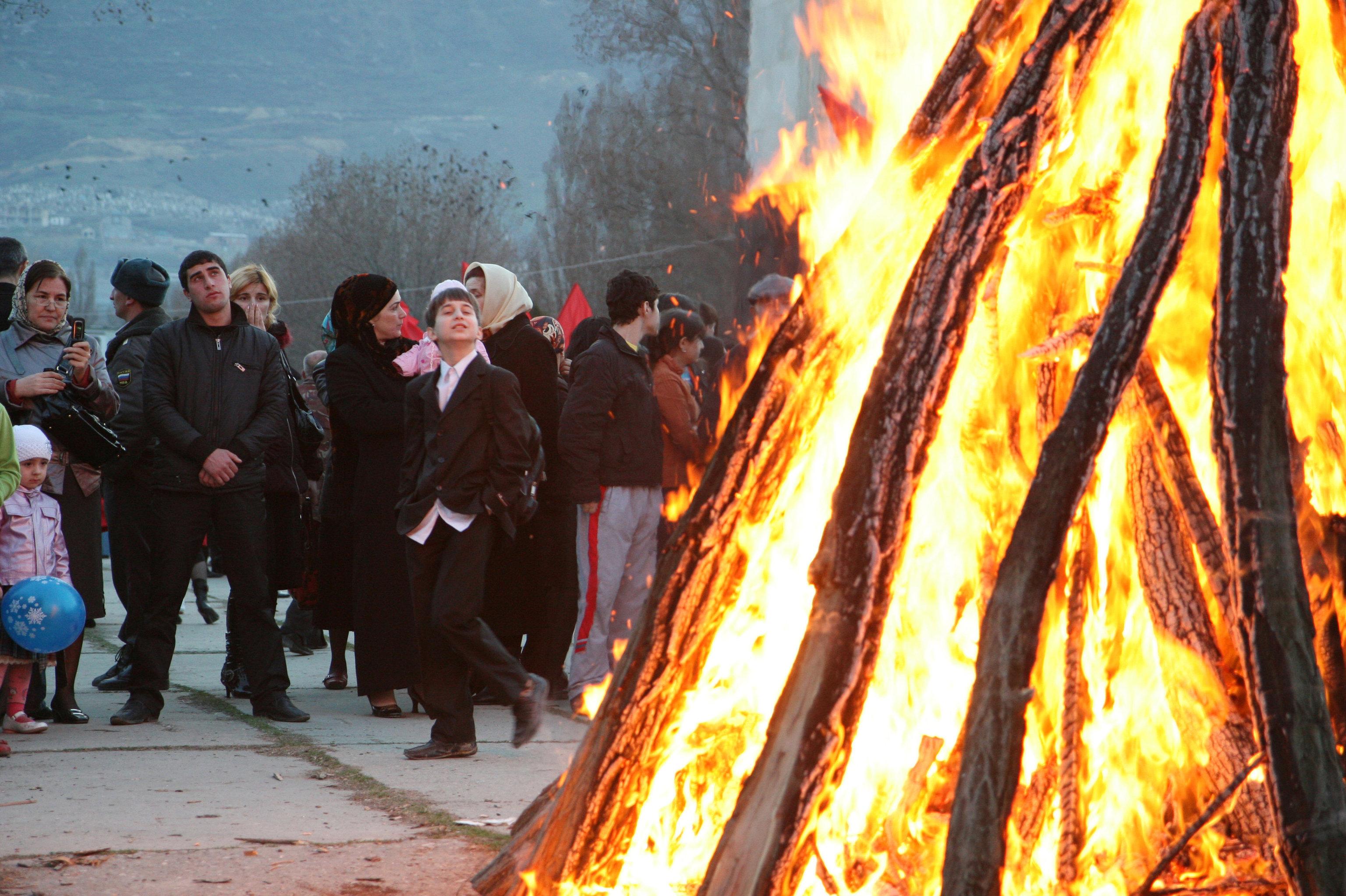 Празднование Новруз-Байрама в Дагестане