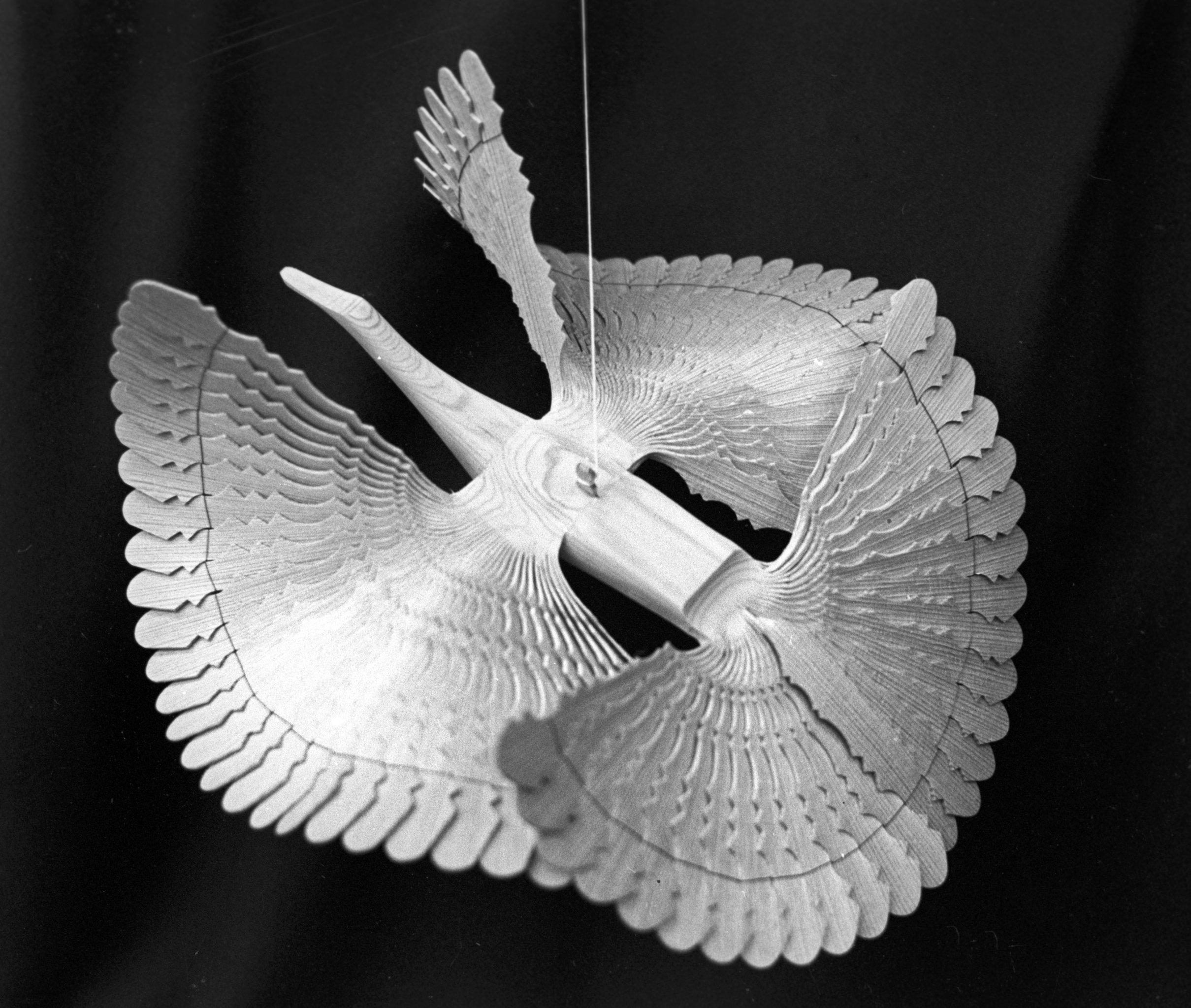 Птица счастья резчика по дереву Владимира Николаевича Бурчевского