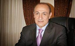 Посол Армении в Грузии, легендарный штангист Юрий Варданян