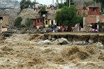 Последствия наводнения в Перу