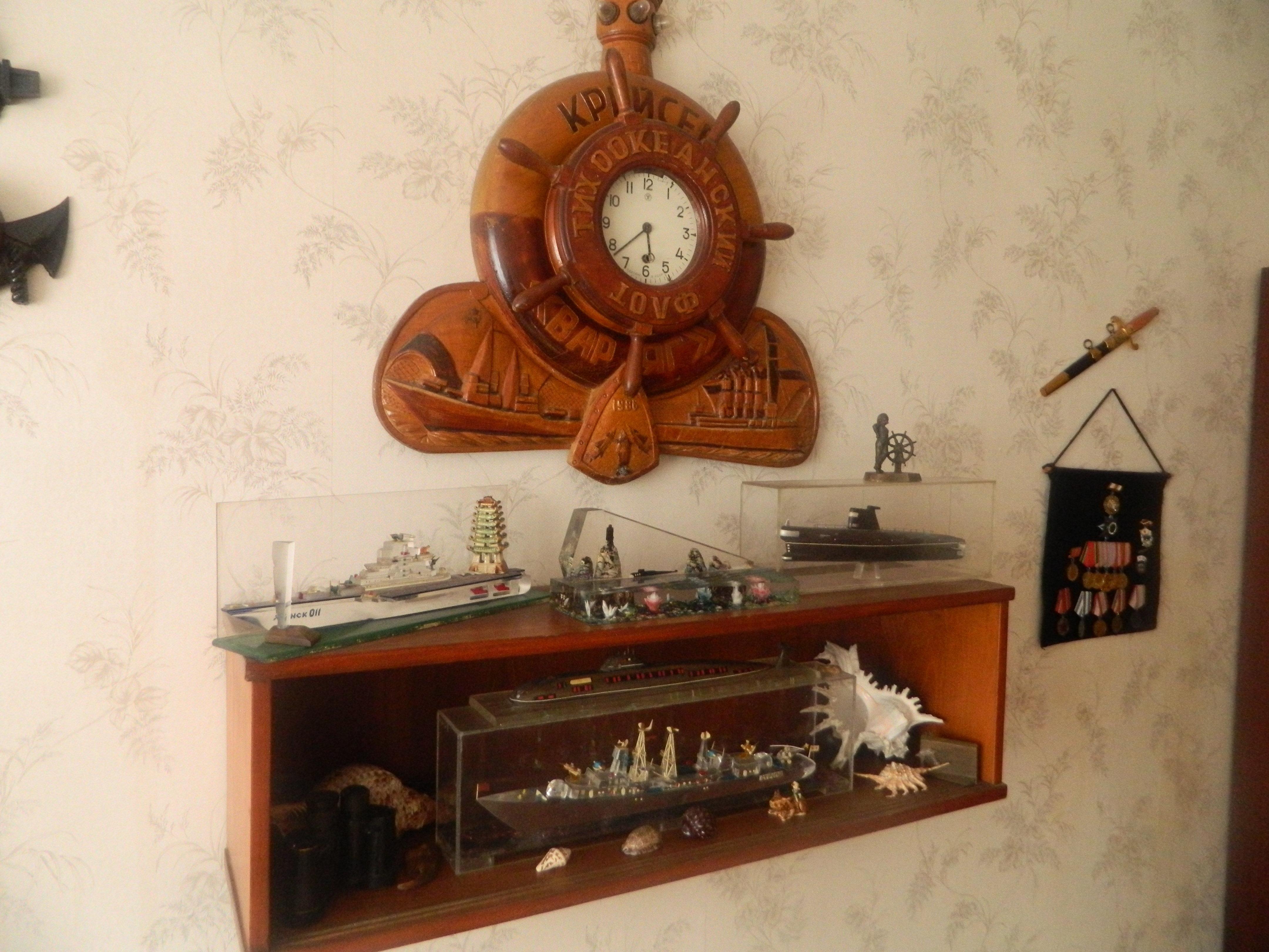 ალექსანდრე ჯავახიშვილის მოგონებების კუთხე წყნარი ოკეანის ფლოტზე