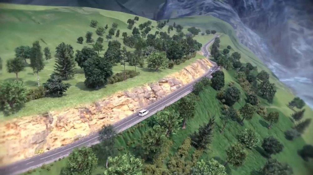 Проект автомобильной дороги к Гергетскому храму