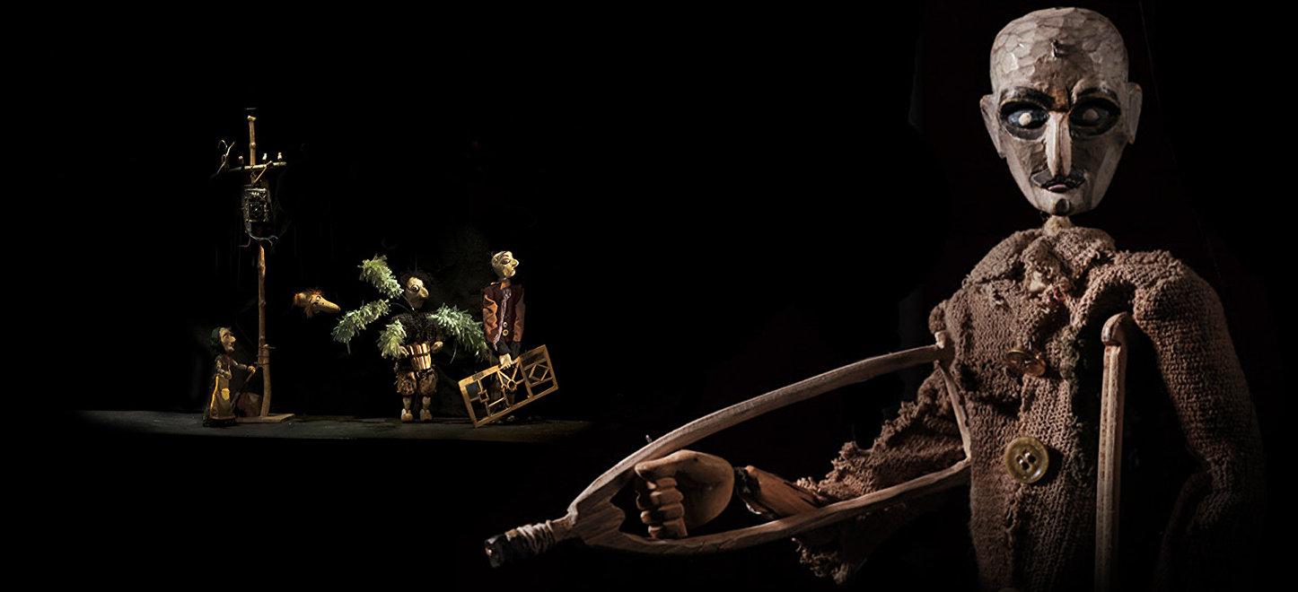 Спектакль Осень моей весны, Тбилисский театр марионеток Резо Габриадзе