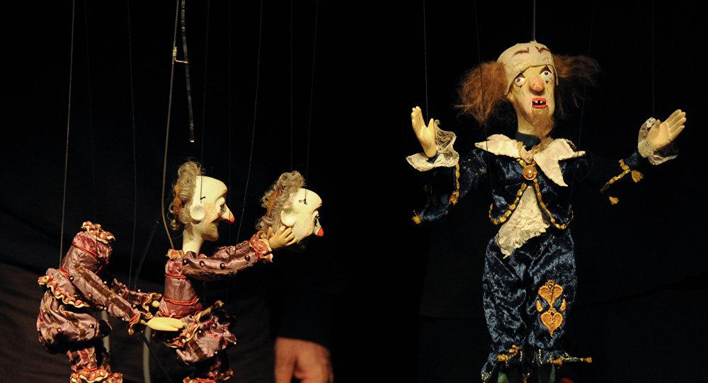 Предпремьерный прогон спектакля Рамона театра Резо Габриадзе