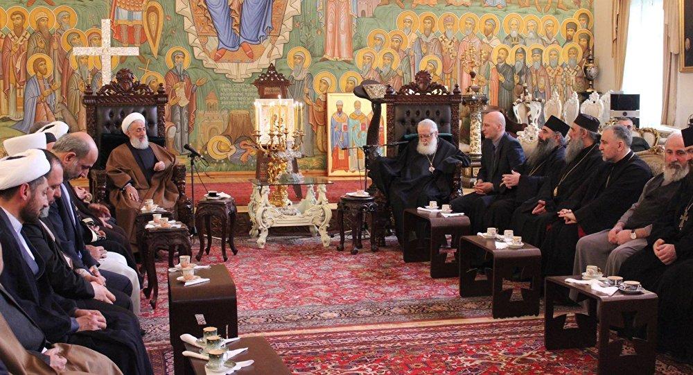 Патриарх Грузии Илия II принял духовного лидера Тегерана