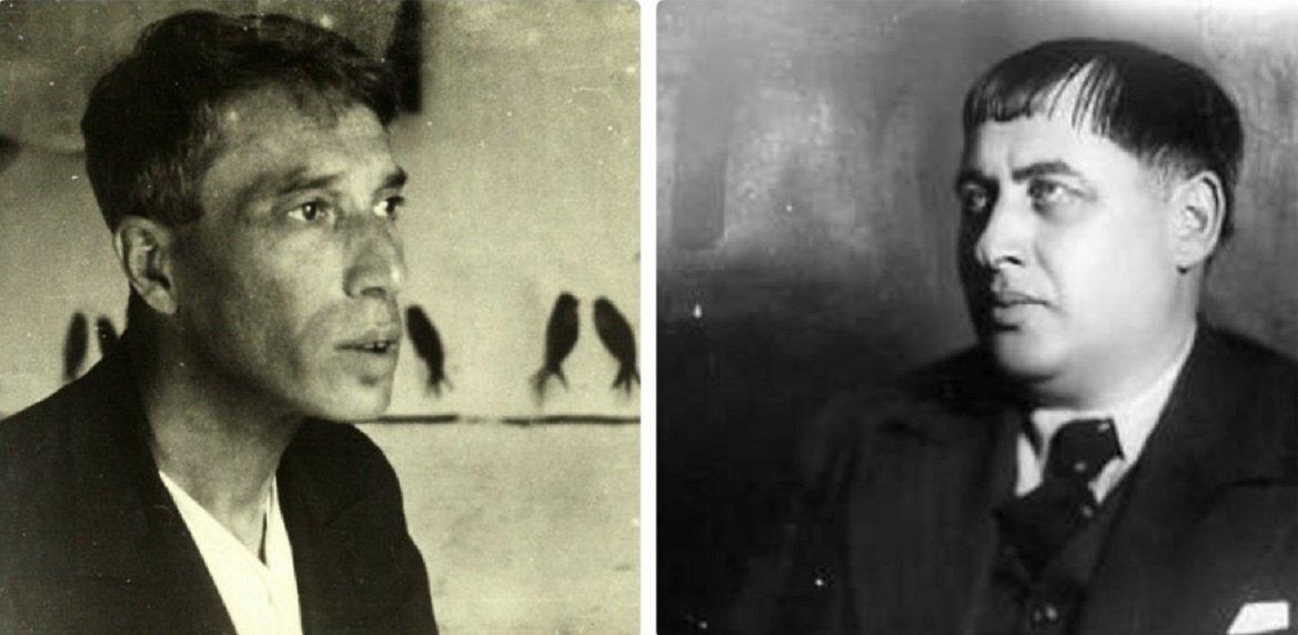 Борис Пастернак и Тициан Табидзе
