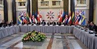 Визит делегаций стран Северо-Балтийской восьмерки в парламент Грузии