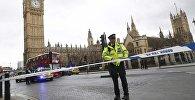 Полиция закрывает площадь у Парламента после стрельбы в Лондоне