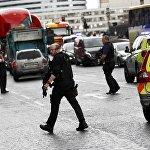 პოლიცია აკონტროლებს პარლამენტის გარშემო ტერიტორიას სროლის შემდეგ