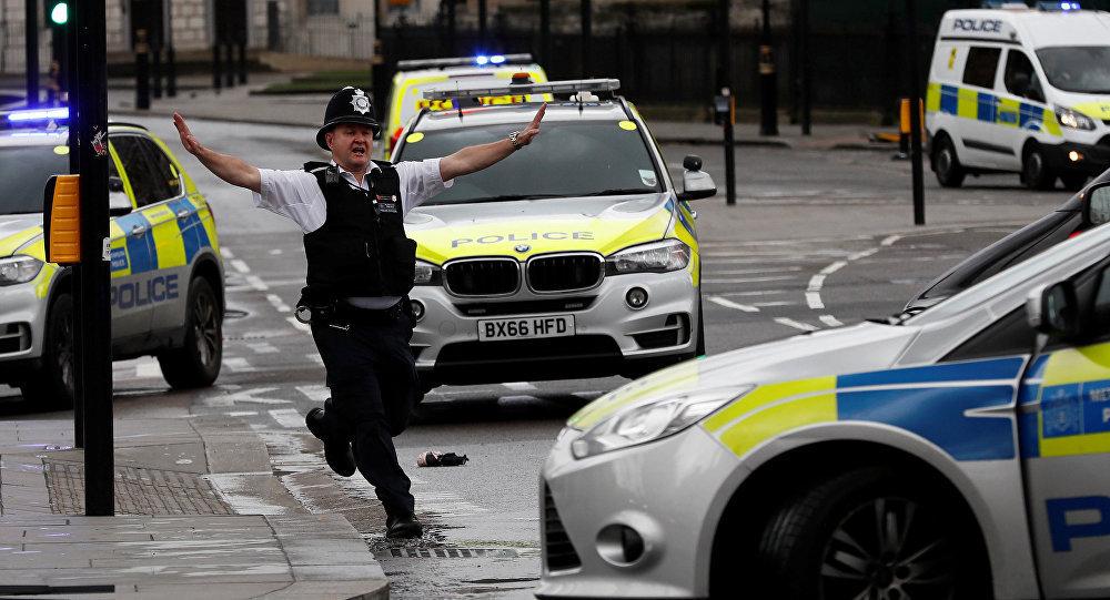პოლიციის ოფიცერი ლონდონში პარლამენტის შენობასთან მომხდარი ტერაქტის შემდეგ