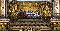 Мозаика Тайная вечеря в Исаакиевском соборе