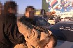 Задержание контрабандистов оружия из США