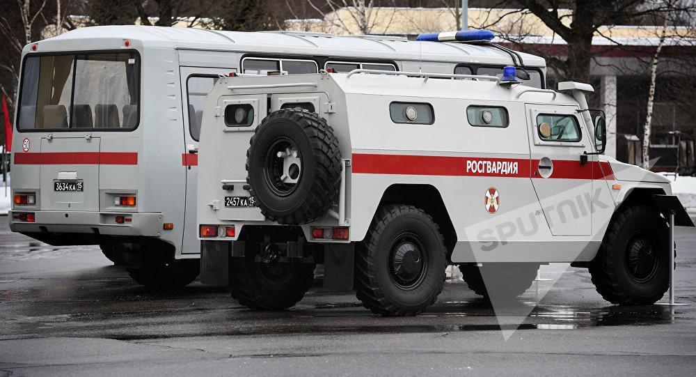 ВЧечне впроцессе  атаки боевиков погибли шесть служащих  Росгвардии