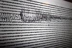Сейсмограф. Землетрясение